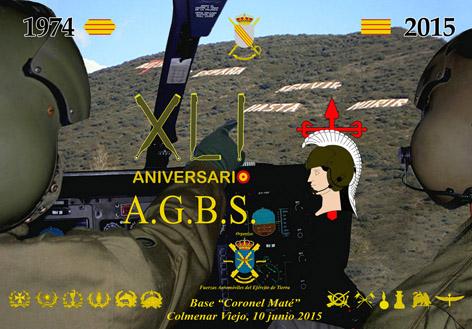 CARTEL AGBS XLI ANIVERSARIO